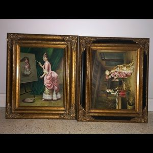 Antique Hand painted